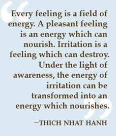 #feeling #energy #thich nhat hanh