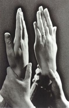 Man Ray - Hands of Gala and Dali, 1936. … from SURREALISM: desire unbound, edited by Jennifer Mundy, Princeton University Press, 2011.