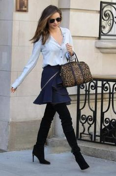 Le look de Miranda Kerr : Smart dans les rues de New York !   June