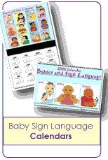 Sign Language Calendar