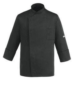 CHAQUETA COCINERO BLACK CHEAP EGOCHEF Mod. 104048 65% Polyester - 35% Cotton