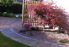 Sloped Garden, Image Types, Betta, Trees To Plant, Google Images, Outdoor Living, Zen, Sidewalk, Flowers