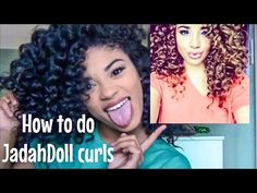 How to do Jadah Doll Curls | jasmeannnn