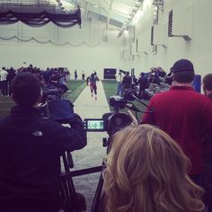 #WVU Pro Day! Photo Cred: @plogers