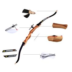 153.22$  Buy now - http://aliv8v.worldwells.pw/go.php?t=32686313147 - 10-40Ibs Hunting Shooting Straight Bow Composite materials Bow Riser Portable Folding Bows Survival Tools for Shooting Training 153.22$