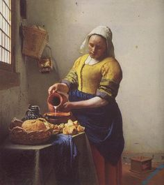 VERMEER009 - Classic Art Paintings This was my favorite instructor's favorite art piece.