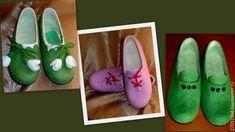Домашние валяные туфельки – купить в интернет-магазине на Ярмарке Мастеров с доставкой