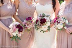 wedding palette gold, blush, dusty rose, wine - Google Search