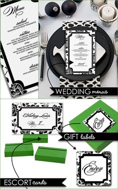 DIY, Do It Yourself, Material Templates, Label Stickers, Menu Cards, Escort Cards, print, templates, download