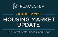See the October infographic highlighting the major real estate housing market statistics for 2015. http://plcstr.com/1W1qj36 #realestate #housingmarket