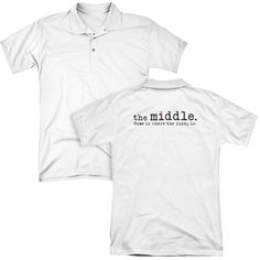 The Middle Logo Adult Polo Shirt