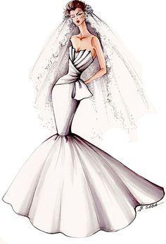 This blog has gorgeous wedding dress designs!
