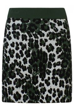 Kenzo Damen Minirock Leopard Jacquard Skirt Olive | SAILERstyle Kenzo, Sequin Skirt, Sequins, Skirts, Cotton, Fit, Products, Fashion, Fashion Styles