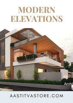 Best Modern House Design, Modern Exterior House Designs, Modern Architecture Design, Simple House Design, Bungalow House Design, House Front Design, Residential Architecture, Modern Colonial, French Colonial