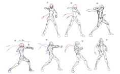 Medium Punch - Animation frames. by supermariotto.deviantart.com on @deviantART