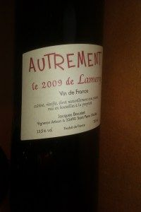 2009 Autrement... An organically and biodynamically made Bordeaux!
