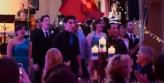 "If you're searching for a little inspiration for your wedding's entertainment, look no further than ""Les Miserables."" On Saturday, a video of wedding guests performing the song ""One Day More"" from the Broadway musical ""Les Miserables,"" flash mob-style, was posted to YouTube."
