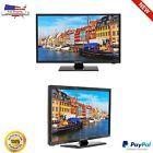 "19"" LED TV HD Flat Screen Wall Mountable HDMI USB Monitor 720p Res 60Hz Digital"
