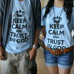 Trust in God! I really want one of these :D