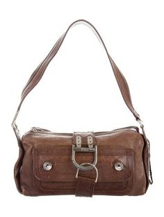 dd25413d96 Distressed Leather Shoulder Bag