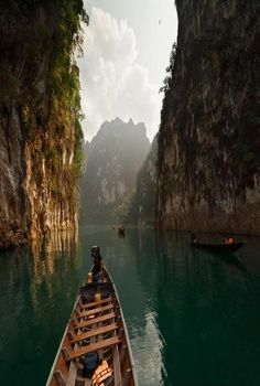 Canyon Lake, Thailand.