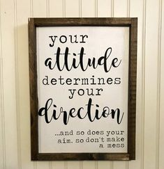 Your attitude determines your direction and so does your aim wood sign / funny bathroom sign Bathroomsigns 151574343696661455 Funny Home Decor, Wood Signs Home Decor, Home Signs, Wooden Signs, Bathroom Humor, Bathroom Signs, Funny Bathroom Quotes, Lodge Bathroom, Basement Bathroom