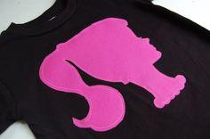 Vintage Barbie Silhouette Youth TShirt by ShopMelissa on Etsy, $15.00