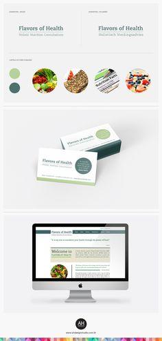 AHdesign Studio, Identidade Visual e Website para a nutricionista Tânia Pinto #design, #idvisual, #branding, #website, #webdesign, #flavorsofhealth, #nutrition, #businesscard, #graphicdesign, #ahdesignstudio