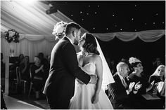 Heaton House Farm Wedding Venue, Cheshire, Cris Lowis Photography, civil ceremony, bride and groom, under the stars, wedding day, kiss, love, couple
