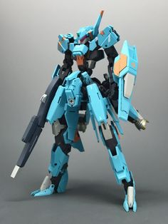 not graze but can be referred to regarding the color custom, body proportion and weapon settings Gundam Vidar, Gundam Iron Blooded Orphans, Big Robots, Mecha Suit, Imagination Art, Gundam Build Fighters, Arte Robot, Gundam Custom Build, Frame Arms