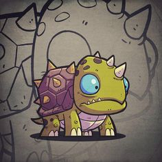 The Art of Derek Laufman Graffiti Art Drawings, Graffiti Doodles, Cool Art Drawings, Robot Illustration, Character Illustration, Monster Concept Art, O Pokemon, Chibi Characters, Cartoon Art Styles