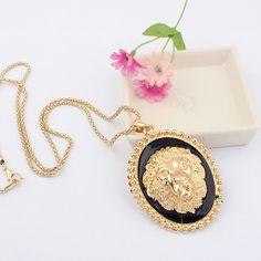 Lion Head Necklace Rs.550