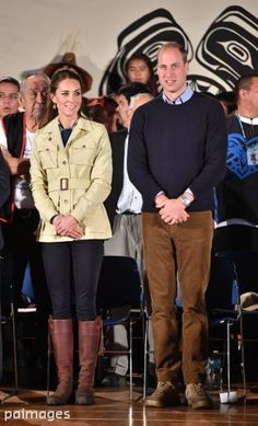 "PA Images on Twitter: ""The Duke & Duchess of Cambridge visit Bella Bella in Victoria on day three of their tour of Canada #RoyalVisitCanada"
