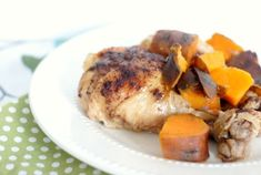 Slow Cooker Cinnamon Chicken with Sweet Potatoes - Mommy Hates Cooking. Need more flavor! Shrimp Pressure Cooker Recipe, Pressure Cooker Recipes, Slow Cooker Roast Beef, Slow Cooker Soup, Crockpot Recipes, Cooking Recipes, Sausage Crockpot, Ninja Recipes, Fun Recipes