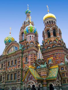 Cathedral of the resurrection of Christ, St. Petersburg Russia