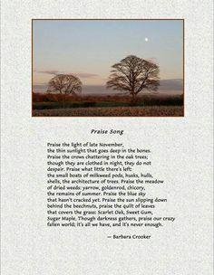 Praise poem