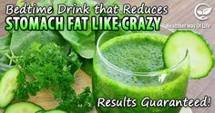 Bedtime Drink that Reduces Stomach Fat Like Crazy