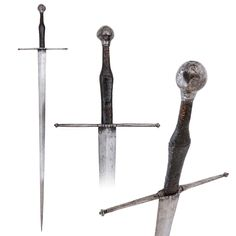 Gothic Hand-and-a-half Sword, German or Swiss, circa 1490-1500