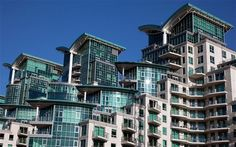 """""""If James Blunt were a building, he'd be this."""" St George Wharf, London SW8/ voted #7 in London's ugliest buildings."""