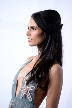 Jordana Brewster in Valentino at the  of Fast & Furious 7 Taurus, Brunette Actresses, Most Beautiful Hollywood Actress, Celebrity Stars, Jennifer Love Hewitt, Metal Girl, Hot Brunette, Fast And Furious, Female Portrait