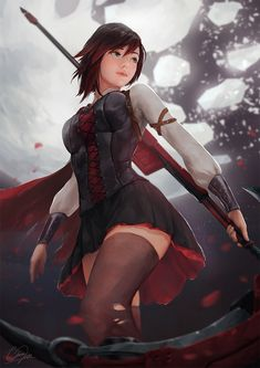 ArtStation - Ruby (Volume 5) - RWBY, Isaac Liew
