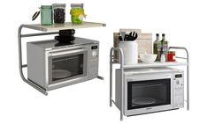 Mueble estante de microondas Pallets, Microwave, Oven, Kitchen Appliances, Metal, Microwaves, Tools, Architecture, Furniture