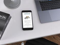 Mockup: Studio tecnico progetto casa Pianoro. #sitiweb #responsive #website #webdesign