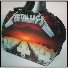 Metallica Master Of Puppets Backstage Bag Record Purse