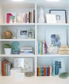 Bookshelf idea...white may work really well in the space...