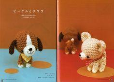 FREE Mini Dog Amigurumi Crochet Pattern / Tutorial