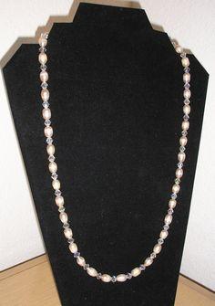 Classic elegance/Genuine freshwater pearls by CreationsbyMaryEllen, $23.00