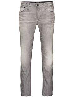 PREMIUM by JACK & JONES -Skinny-Fit-Jeans von PREMIUM - Low rise - Schmale Oberschenkel- und Knieform - Enger Beinabschluss - Hosenschlitz mit Reißverschluss - Klassisches 5-Taschen-Modell 93% Baumwolle, 6% Polyester, 1% Elasthan...