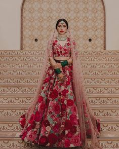 20+ Floral Lehenga Designs For BridesThat Are Trending Big Time