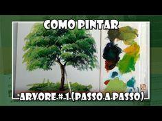 Pintura vegetação com broxinha - Condor - YouTube